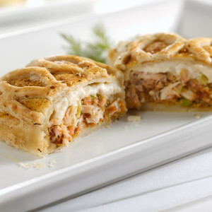 Crab Stuffed Puff Pastry