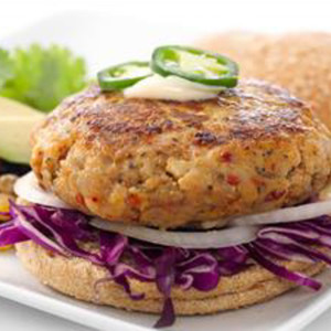 Seasoned Mahi Burger