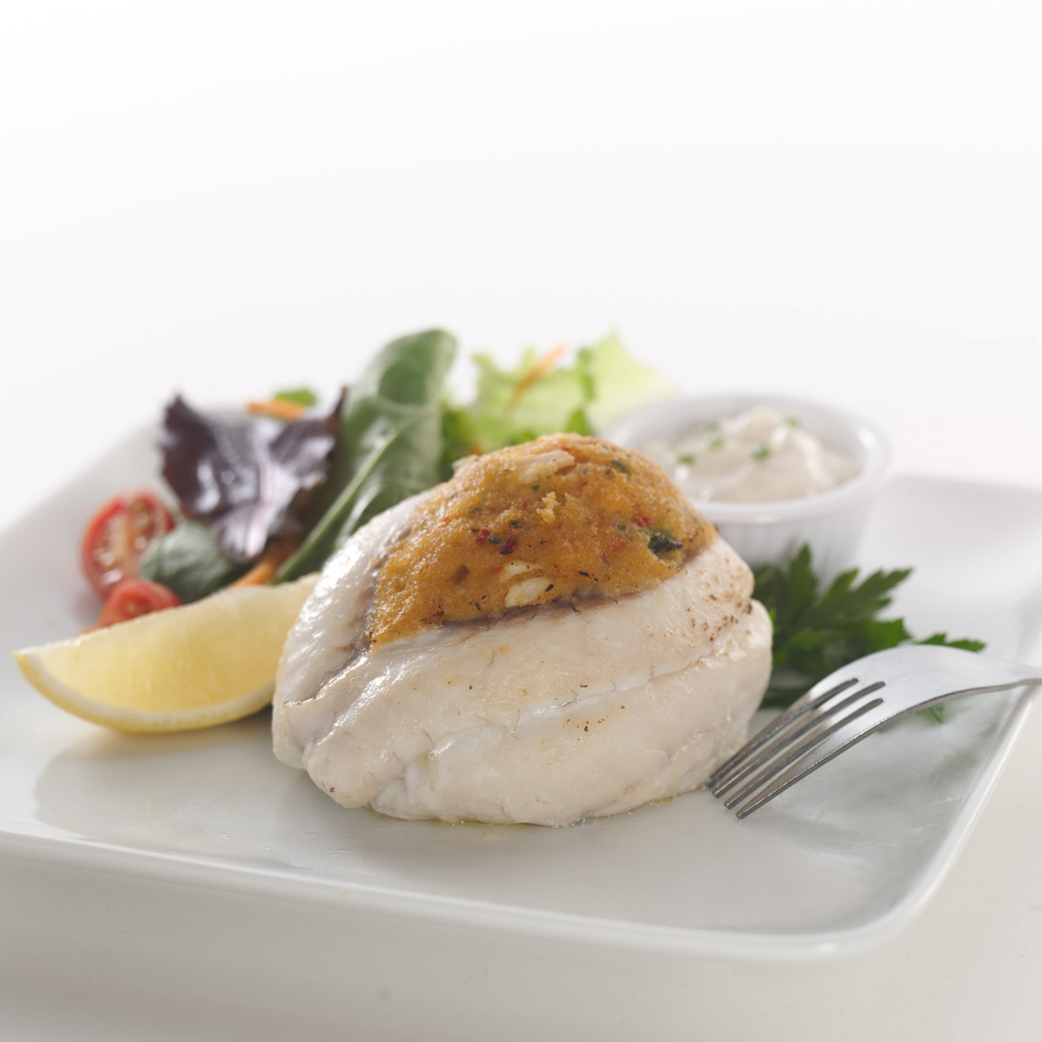Tilapia With Crabmeat Stuffing Inland Seafood