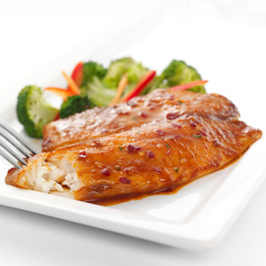 Sweet Asian Glazed Tilapia