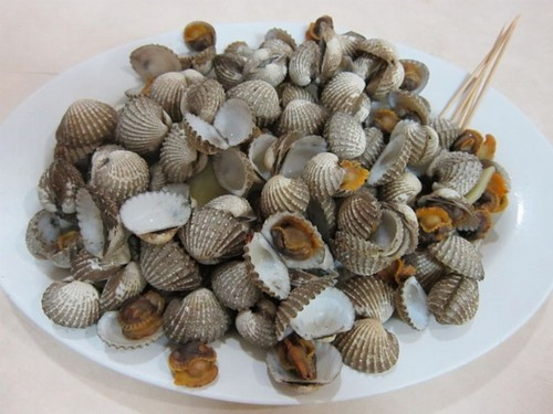 Clams: Cockles